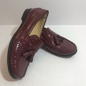 Cole Haan Nike Air Patent Leather Tassel Loafer